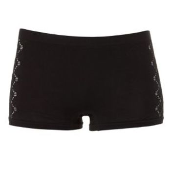 Caged-Side Seamless Boyshort Panties by Charlotte Russe