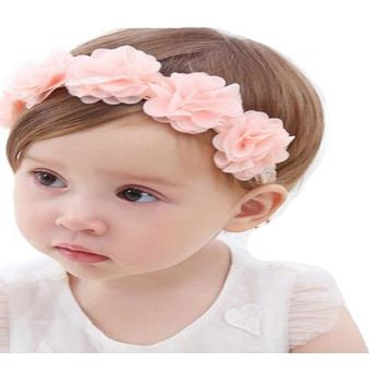 Pink Ribbon Hair Band For Children