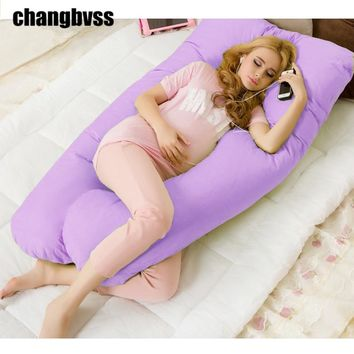 Hot Sale Quality U Type Body Pillow For Pregnant Women Easy Breastfeeding Body Pillows Mommy Nursing Cover Side Sleepers Pillow
