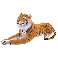 Melissa & Doug Plush Tiger   Overstock.com Shopping - The Best Deals on Animal Toys