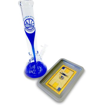 Champions Print Water Pipe & Tray Combo