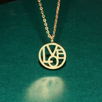 Love Name Necklace - Lover Gift - Unique Jewelry