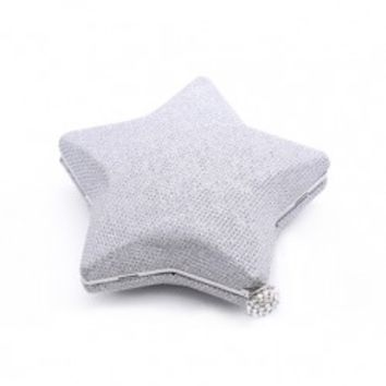 Star-shaped Diamante Mini Purse