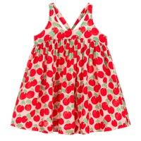 Baby Girls Cherry Dress with Bloomers Set