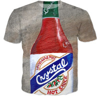 Hot Sauce Painting T Shirt