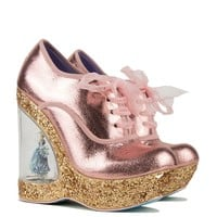 Irregular Choice Cinderella Collection Wedge in Copper