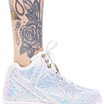 Qozmo Aiire Glitter Sneakers from Dolls Kill  98de2c9a8c