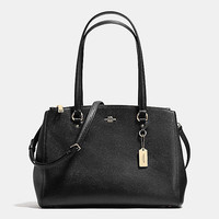 STANTON CARRYALL IN CROSSGRAIN LEATHER