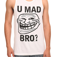 Troll Face You Mad Bro? Tank Top