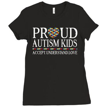 Proud Autism Kids Ladies Fitted T-Shirt