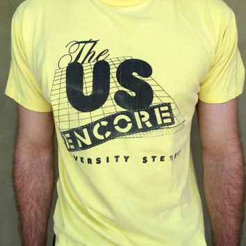 Vintage US Encore University Stereo T Shirt