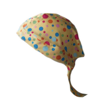 Multi Color Dots Scrub Cap