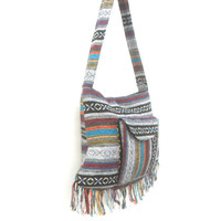 Shoulder Bag Sling Thai Hippie Hobo Multicolor Bag Hobo Crossbody Bag Boho Bohemian Bag Purse Messenger Sling Gift Bag