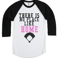 There Is No Place Like Home-Unisex White/Black T-Shirt
