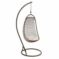 Deco 79 Metal Hanging Chair, 84-Inch by 35-Inch