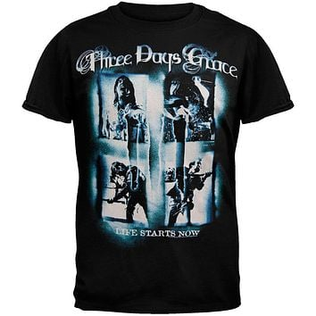 Three Days Grace - Screaming Squares Tour T-Shirt