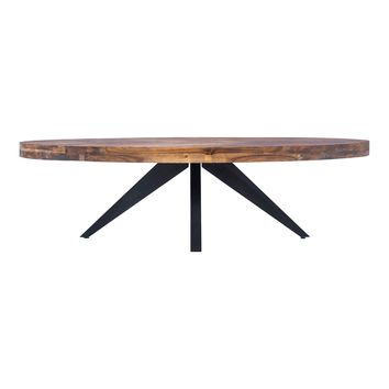 PARQ OVAL COFFEE TABLE
