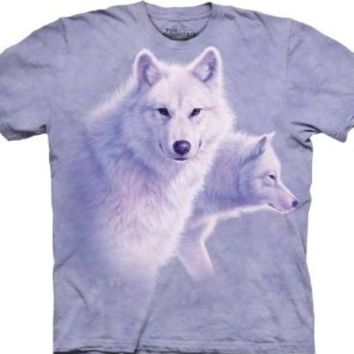 The Mountain Graceful White Wolves Tee T-shirt