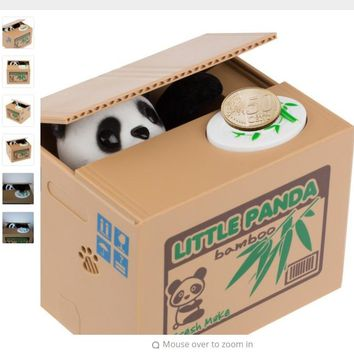 Gift kids Automatic Panda takes Coin