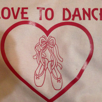T-shirt Love to Dance