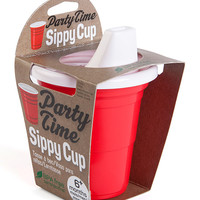 Red Party Time Sippy Cup