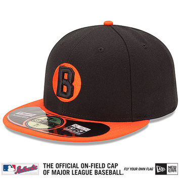 Baltimore Orioles Authentic Collection Turn Back The Clock Negro Leagues Tribute On-Field 59FIFTY Game Cap - MLB.com Shop