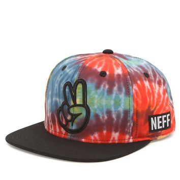 Neff Tie Dye Snapback Hat - Mens Backpack - Multi - One