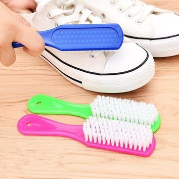 Shoe Brush Cleaning Fur Wash Shoes Quality Good Helper Crystal Color Brush Wash Shoes