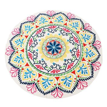 Hot Sale Indian Mandala 150cm Bohimian Style Summer Beach Tapestry Towel Blanket Throw Yoga Mat Shawl Table Cloth