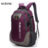 30L Nylon Sports Backpacks Teenage Girls Men's Laptop School Bag Large Outdoor Bicycle Backpack Waterproof Rucksack Blue XA1261A