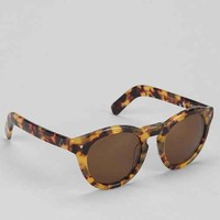 Ashbury Vacation Round Sunglasses- Brown One