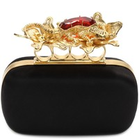 Salamander Short Knuckle Box Clutch Alexander McQueen | Clutch | Bags |