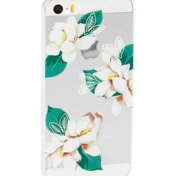 Clear Royal Garden Soft Case for iPhone 5 / 5S & SE