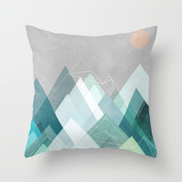 Graphic 107 X Throw Pillow by Mareike Böhmer Graphics