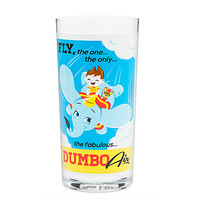 Dumbo the Flying Elephant Retro Glass Tumbler | Disney Store