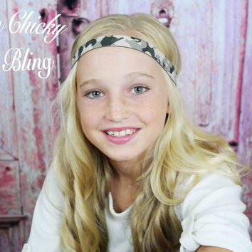 Tween Camouflage Hunting Headband