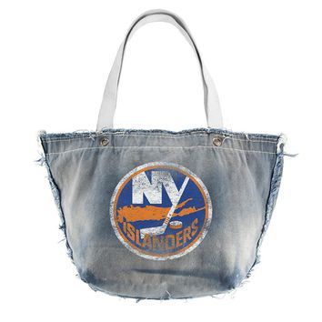 New York Islanders NHL Vintage Denim Tote
