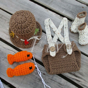 Best newborn fishing props products on wanelo for Baby fishing outfit