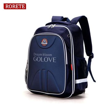 Waterproof Primary School Bags Oxford Orthopedic Children school bag for teenagers girls boys Reflective backpacks Class