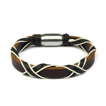 New Arrival Great Deal Hot Sale Shiny Gift Stylish Awesome Leather Men Accessory Bracelet [6526724867]