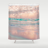 MORNING GLORY Shower Curtain by Catspaws