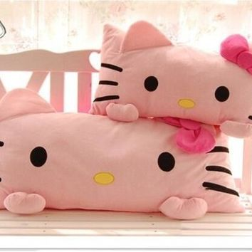 Kawaii Bokwnot Hello Kitty Travel pillow 3 Sizes For Adult Children
