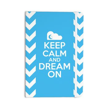 "Nick Atkinson ""Keep Calm"" Everything Notebook"