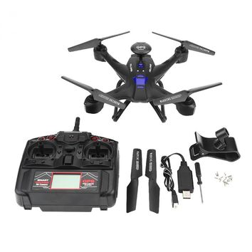 X191 Wifi Altitude Hold RC Quadcopter Remote Control Drone Toy Headless Mode One Key Return GPS Helicopter With 720p Camera