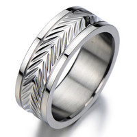 Anniversary Gifts for Men/Men's Wedding Band Ring Man/Wide Silver Band Rings/Man Wedding Band Ring Men Promise Ring for Him
