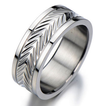 Anniversary Gifts For Men S Wedding Band Ring Man Wide Silver Rings