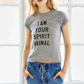 Urban Renewal Recycled Spirit Animal Vintage Tee