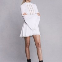 WILLOW BELL SLEEVE DRESS