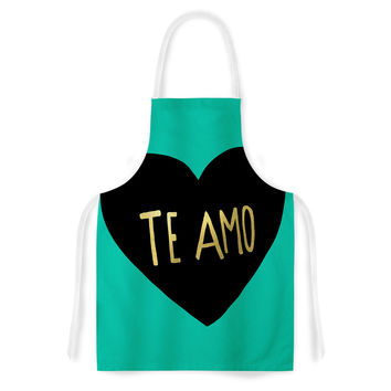 "Leah Flores ""I Love You in Espanol"" Te Amo Artistic Apron"