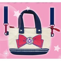 Sailor Moon Mini Tote Bag -- Crystal Star Brooch **Preorder**